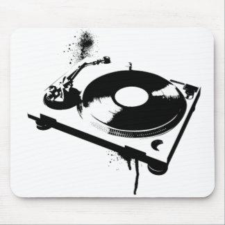DJ Turntable Mouse Pad