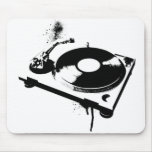 DJ Turntable Mousemat