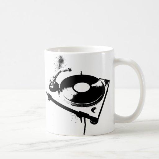 DJ Turntable Mug