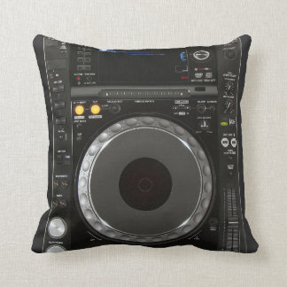 DJ Turntable Pillow