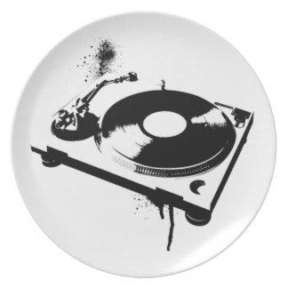DJ Turntable Plate   Ibiza House Music Gifts