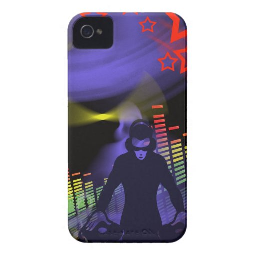 DJ Turntable v4 iPhone 4 Cover