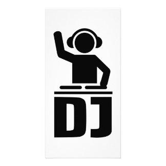 DJ turntable vinyl Photo Card Template