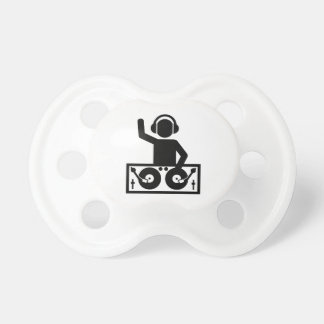 DJ Turntables Baby Pacifier