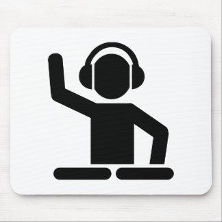 DJ Turntables Mouse Mat