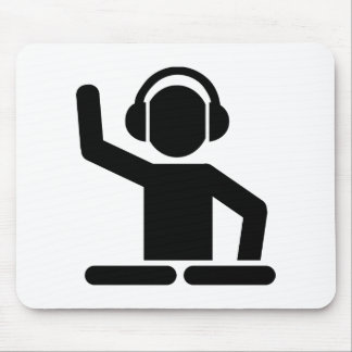 DJ Turntables Mouse Pads