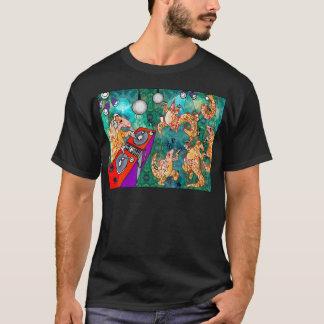 DJ Turntablist Pangolin T-Shirt