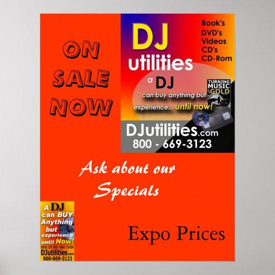 DJ Utilities Poster