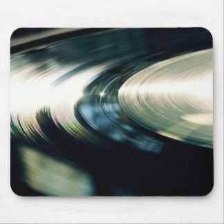 Dj vinyl console mouse pad