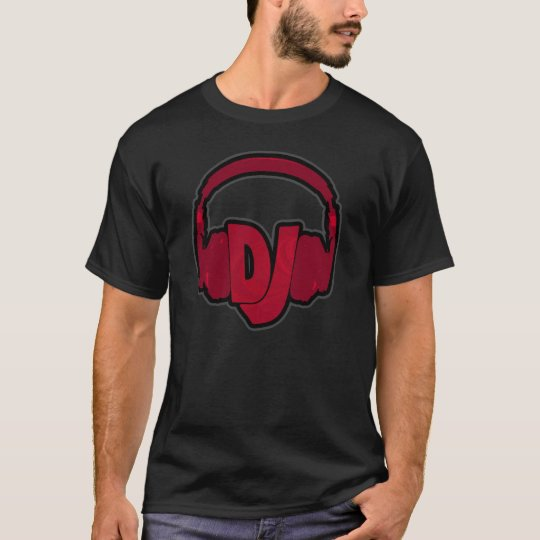 DJ wearing headphones T-Shirt