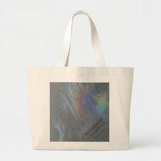 Djaneraimages original prism design large tote bag