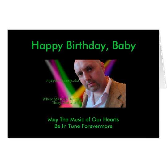 DJColzz Novelty Birthday Card