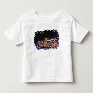 Djed pillar pectoral and wedjet eye pectoral toddler T-Shirt