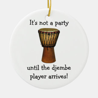 DJEMBE Christmas ornament