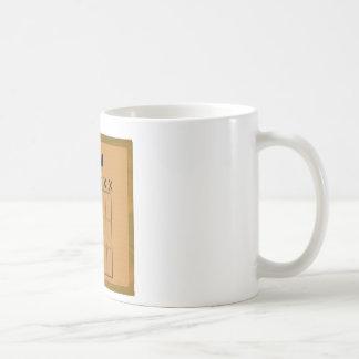 Djent Fret Board Diagram Coffee Mug