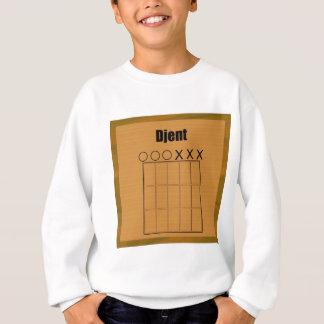 Djent Fret Board Diagram Sweatshirt