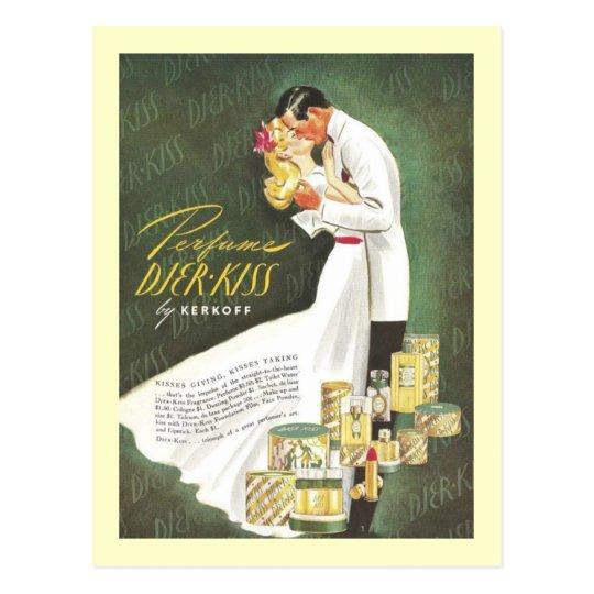 Djer Romantic Kisses Postcard