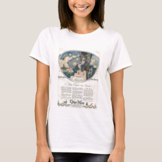 Djerkiss Romantic French Perfume Ad T-Shirt