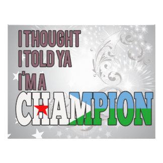 Djibouti and a Champion Flyer