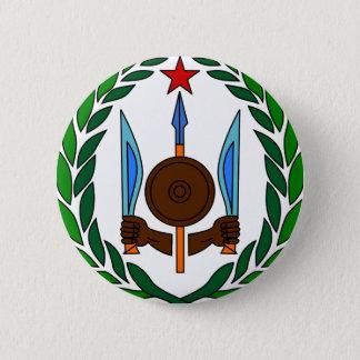 Djibouti coat of arms 6 cm round badge