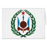 Djibouti Coat of Arms Greeting Card