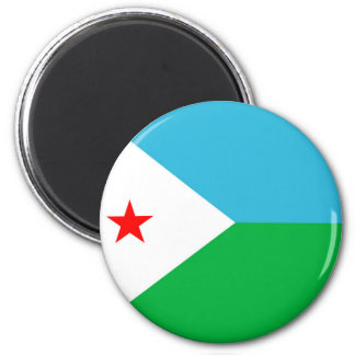 djibouti country long flag nation symbol magnet