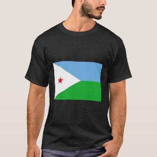 Djibouti Flag DJ T-Shirt