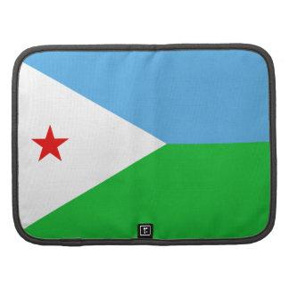 Djibouti Flag Folio Organizer