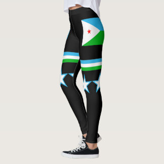 Djibouti Flag Leggings