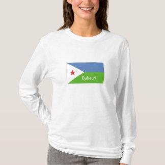 Djibouti flag souvenir tshirt