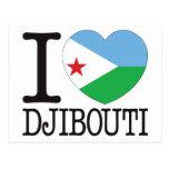 Djibouti Love v2 Postcard