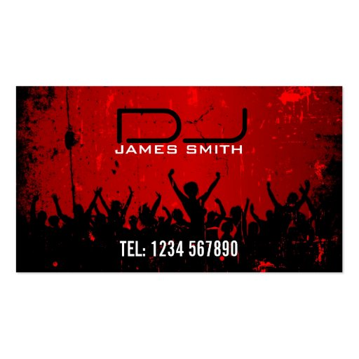 Premium dj business card templates page9 djs business card wajeb Choice Image