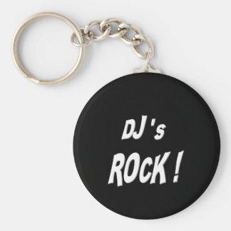 Djs Rock Keychain