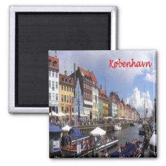 DK - Denmark - Copenhagen Kopenhagen Square Magnet