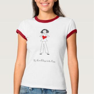 dkpwheart, dkpwheartcolor, My Heart Belongs to ... T-Shirt