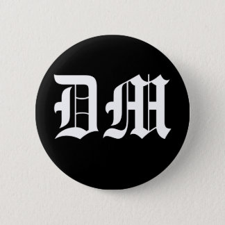 DM 6 CM ROUND BADGE