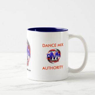 DMA COFFEE MUG 11 OZ WHITE/BLUE...