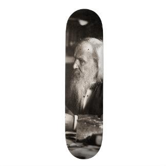 Dmitri Ivanovich Mendeleev Portrait 21.3 Cm Mini Skateboard Deck