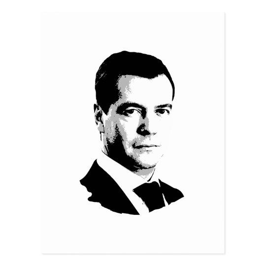Dmitriy Medvedev Postcard