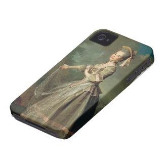 Dmitry Levitzky- Portrait of Ekaterina Nelidova iPhone 4 Case
