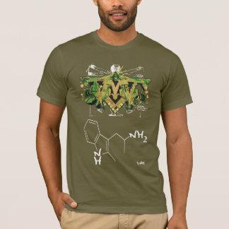 DMT STRUCTURE - DMT SPIRITUAL GRAFFITI T-Shirt