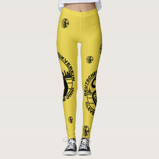 DMV Leggings Black Logo