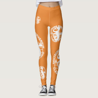 DMV Leggings White Logo