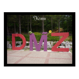 dmz korean postcard