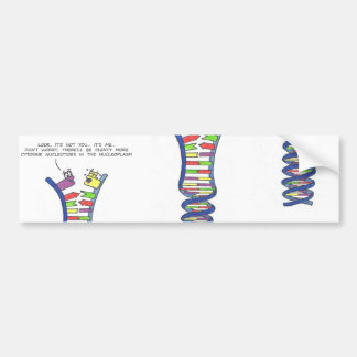 DNA Break-Up - Bumper Sticker