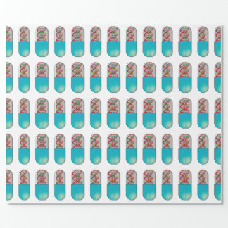DNA Capsule Wrapping Paper
