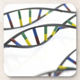 DNA (deoxyribonucleic acid) molecules. Coaster