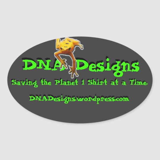DNA Designs bumper sticker