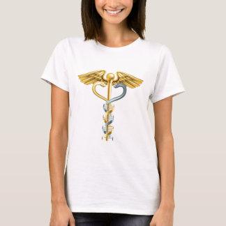 DNA Double Helix Caduceus Concept T-Shirt