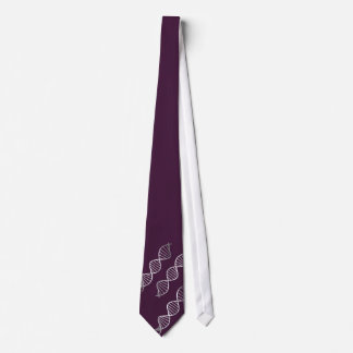 DNA Double Helix Graphic Your Choice of Color Tie